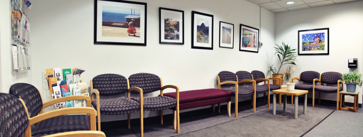 counseling center lobby