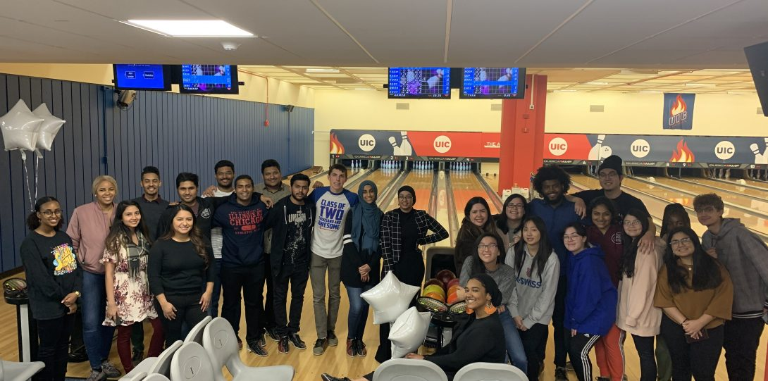 Students Bowling Event