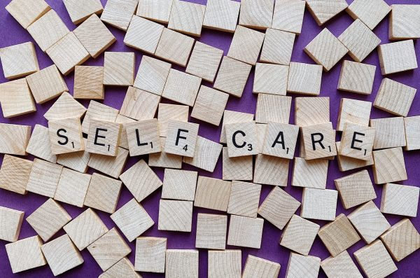 Self-Care Scrabble Tiles