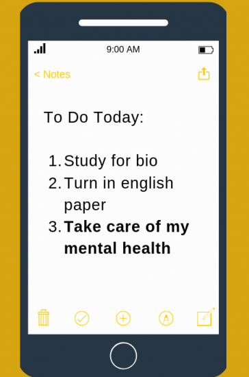 Flyer for Self-Care App Study